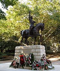 Monument to General Ivan Kolev, Dobrich, Bulgaria