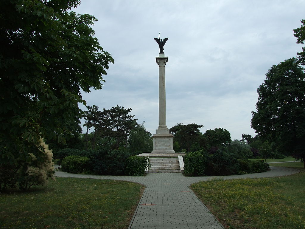The 13. Huszár memorial, Kenderes, Hungary
