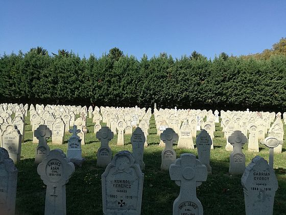 Military cemetery and memorials, Pécs, Hungary