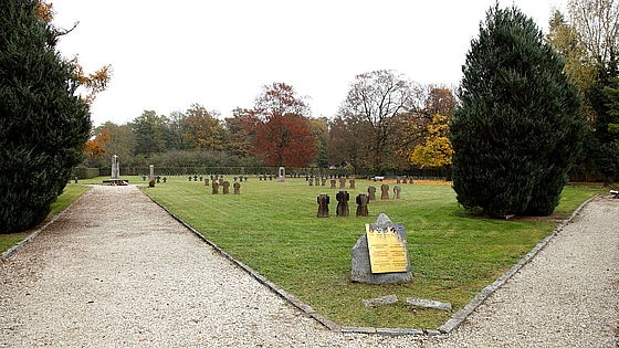Camp cemetery of the former Marchtrenk POW camp, Upper Austria, Austria