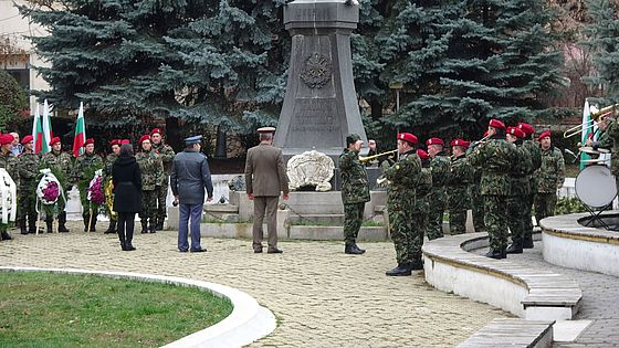The Monument of Bulairtsi – for hero solders of the 13th Rila Regiment