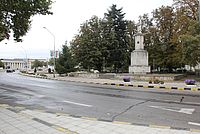 Soldier's  Monument in Suvorovo, Bulgaria
