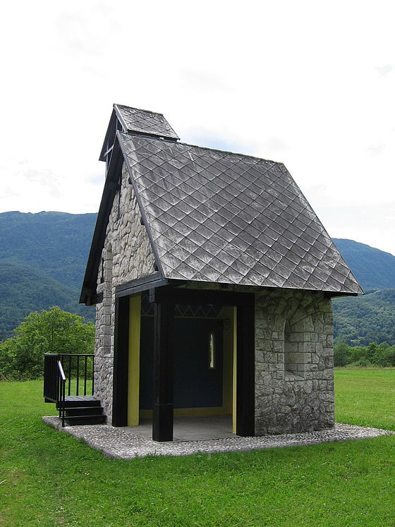 Italian Chapel at Ladra, Slovenia