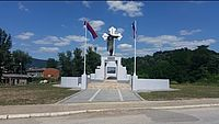 A memorial dedicated to the victims of the Doboj camp 1915-1917, Bosnia and Herzegovina