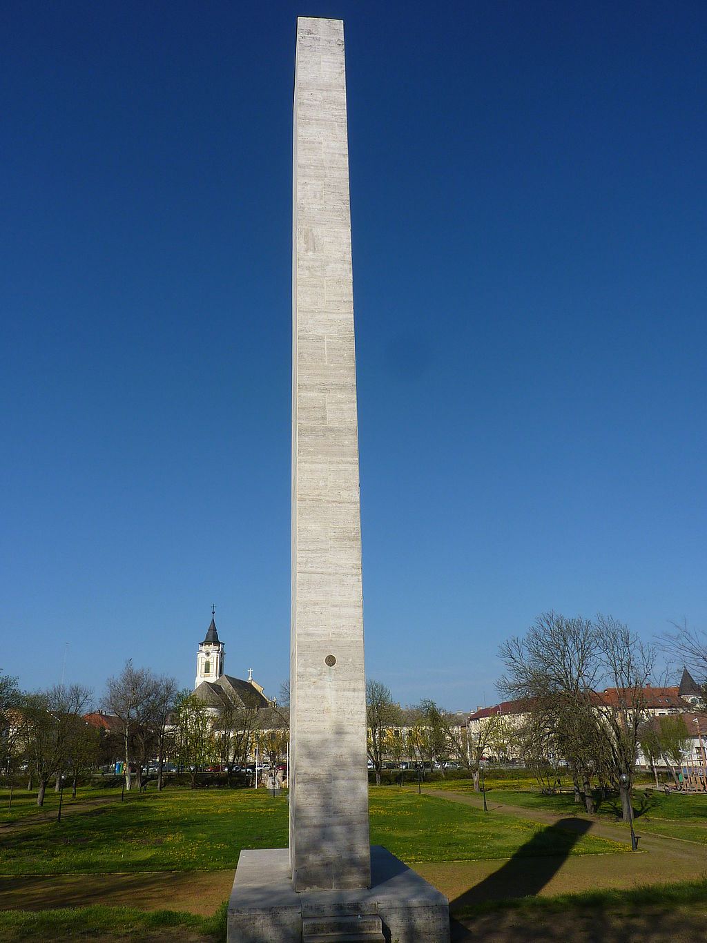 WWI memorial in Déri court, Baja, Hungary