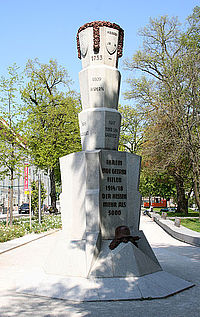 Hessen Memorial in Linz, Upper Austria, Austria