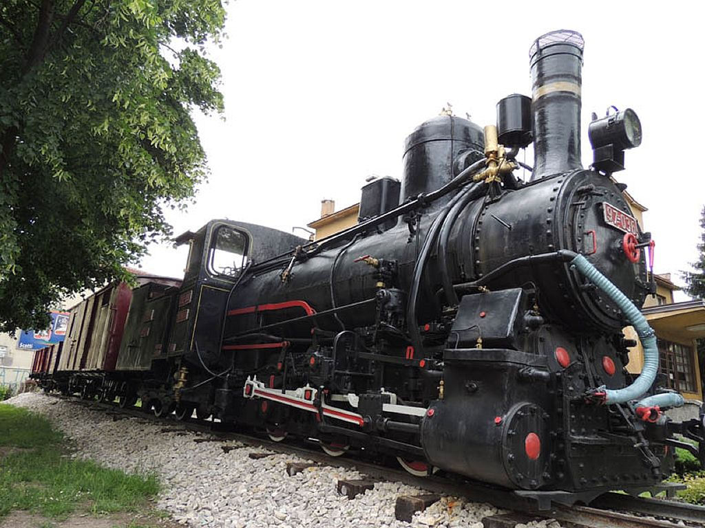 "The old train ""Ćiro"" in Travnik, Bosnia and Herzegovina"