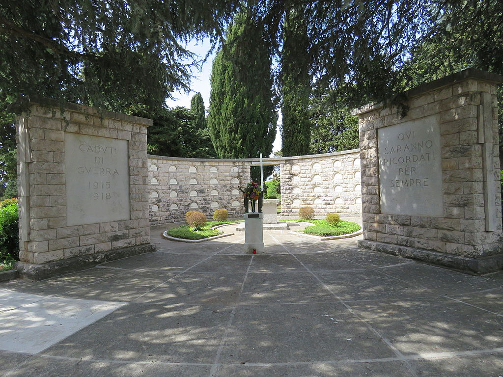 Monument at Zadar City graveyard, Croatia