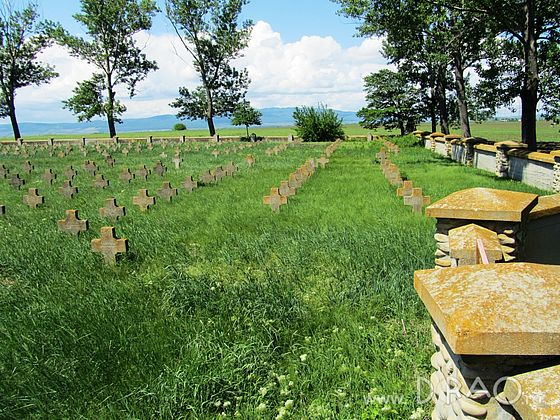 Cemetery of the German Soldiers (1916-1918) in  Batinesti village, Tifesti commune, Vrancea County, Romania