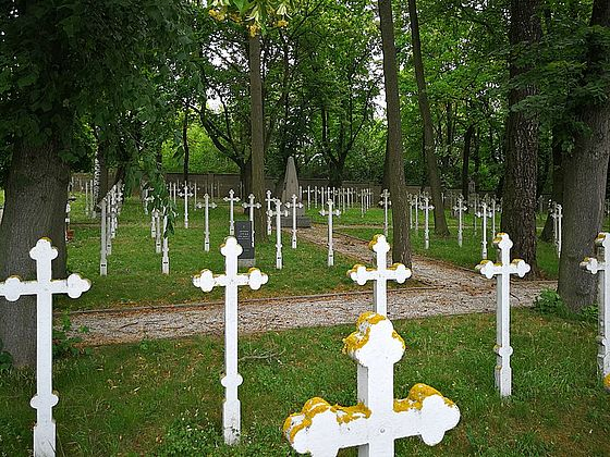 Military Cemetery Pisek, Czech Republic