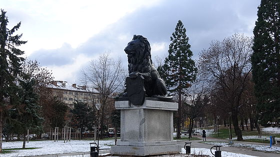 The memorial of the First Sofia Division, Sofia