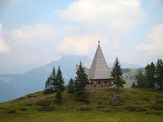 Chapel of Peace at Zollnersee, Carinthia, Austria