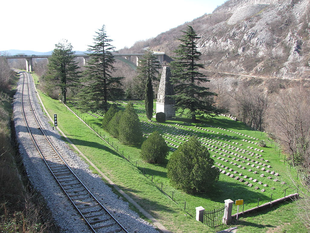 First World War Military Cemetery Solkan, Slovenia