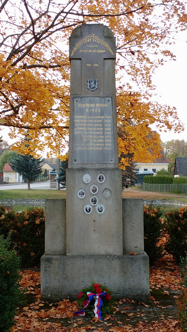 War Monument Domanin, Czech Republic
