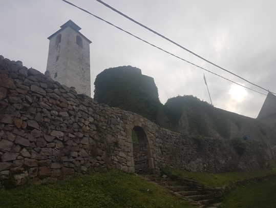 Fortress Gradina in Maglaj, Bosnia and Herzegovina