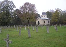 Military Cemetery in Dobrich, Bulgaria