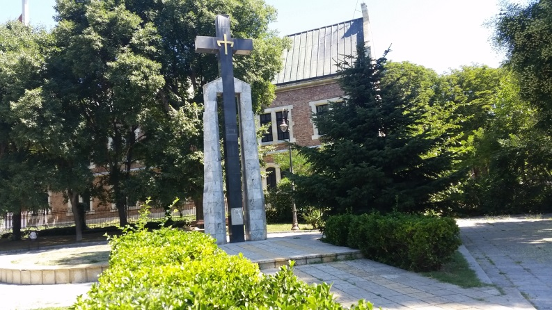 Memorial to the Victims of Communism in Varna downtown