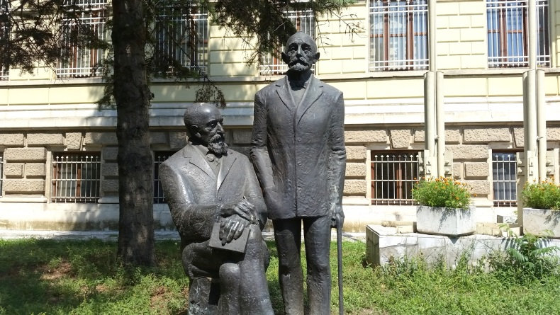 The Monument of the founders of Archeology in Bulgaria – Karel Škorpil (1859-1944) and Herman Škorpil (1858-1923)