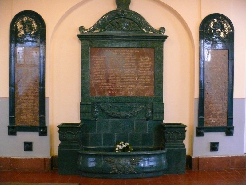 World War I Memorial – C.R. Nagy Lajos High School