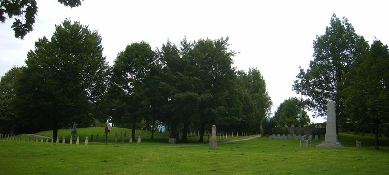 """Russian cemetery"" – camp cemetery of the former Grödig POW camp, Salzburg, Austria"