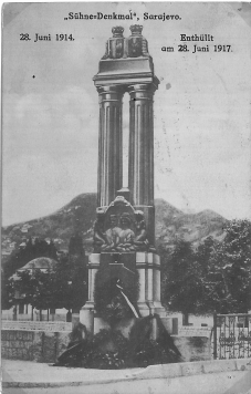 Franz & Sophie Monument in Sarajevo, Bosnia and Herzegovina